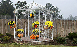 Gazebo For Fall Royalty Free Stock Photo - Image: 6779745