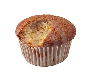 Bite Off Cake Royalty Free Stock Photos - Image: 6781408