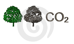 Abstract CO2 Background Royalty Free Stock Photography - Image: 6781837