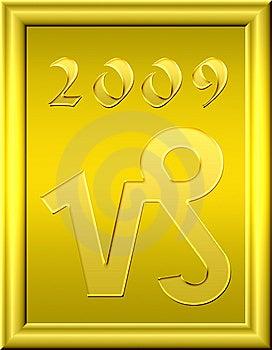 Capricorn Gold Stock Photography - Image: 6782652