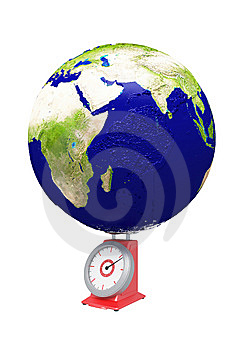 Earth Weight Stock Photo - Image: 6782750