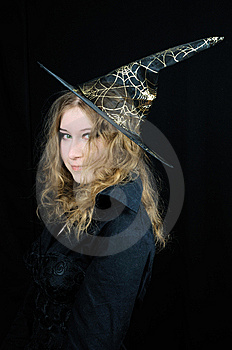 Young Foxy Halloween Witch Stock Photography - Image: 6783692