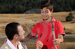 Father With Son And Free Time Royalty Free Stock Image - Image: 6785846