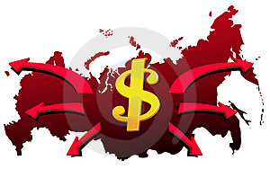 Money From Russia Stock Photography - Image: 6786672