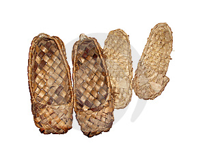Russian Bast Shoe Royalty Free Stock Images - Image: 6786699