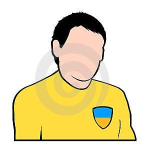 Ucrainian Football Player Royalty Free Stock Images - Image: 6786969