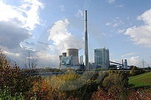 Kraftwerk Gersteinwerk Stock Photo - Image: 6787660