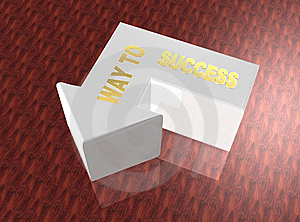 Way To Success Stock Images - Image: 6790484