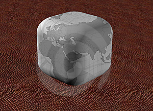 Old Earth Cube Stock Images - Image: 6790534