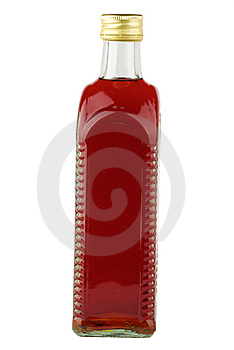 Bottle With Beverage Royalty Free Stock Photo - Image: 6790605