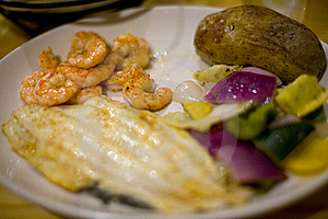 Sea Food Platter Royalty Free Stock Images - Image: 6793889