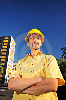 Young Architect Royalty Free Stock Photography - Image: 6794637