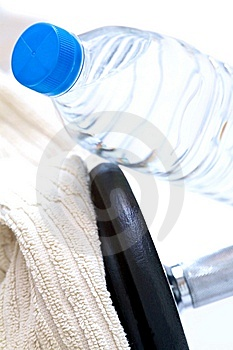 Fitness and water Stock Images