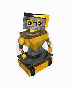 Sad Robot Royalty Free Stock Photos - Image: 6797188