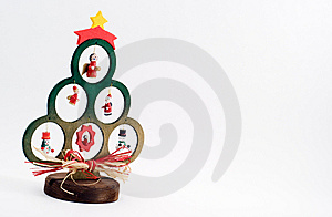 Wooden Christmas Tree Stock Image - Image: 6797371