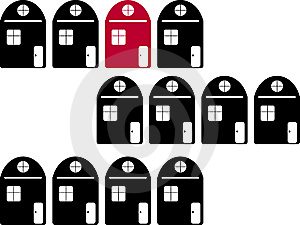 Real Estate Illustration Royalty Free Stock Images - Image: 6798519