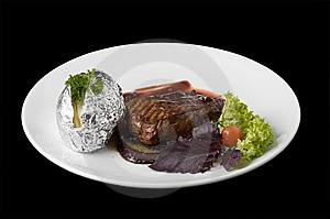 Cooked Beefsteak Stock Images - Image: 6799214
