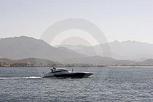 Uppgiftsspeedboat Arkivbild - Bild: 6799962