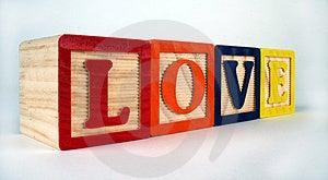 Love Blocks Stock Photos