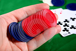 Gambling Royalty Free Stock Image - Image: 681466
