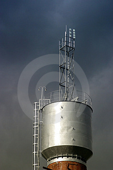 Factory Pipe - 2 Royalty Free Stock Photo - Image: 683045