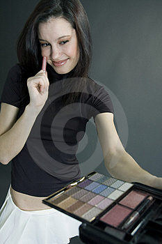 The Last Touch Royalty Free Stock Photo - Image: 689375