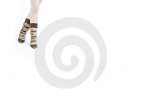 Fur Boots Stock Photos - Image: 689723