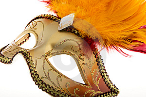 Mask Venetian, Carnival Stock Photography