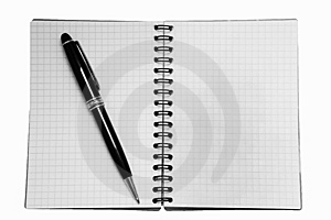 Isoalted Note-pad Stock Images - Image: 6802124