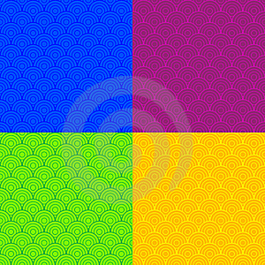 Colored Scales Royalty Free Stock Images - Image: 6803799
