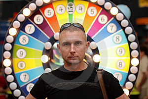 Man In Casino Royalty Free Stock Photos - Image: 6803878