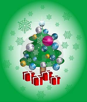 Christmas Tree Royalty Free Stock Photo - Image: 6805215