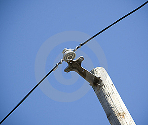 Power Line Stock Photo - Image: 6805990