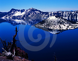 Crater Lake Stock Photo - Image: 6806590