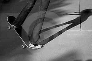 Skateboard Trick Stock Image - Image: 6807191