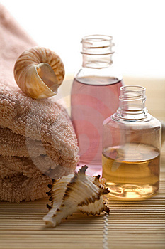 Spa And Body Care Background Royalty Free Stock Images - Image: 6807349