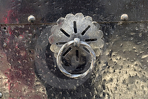 Knocker On The Door Royalty Free Stock Photos - Image: 6808548