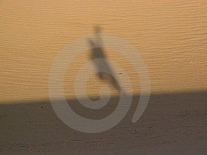 Shadow On Desert Stock Photography - Image: 6809972