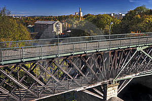 Bridge And Mill Stock Images - Image: 6812024