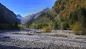 Tirol River Royalty Free Stock Photography - Image: 6812147