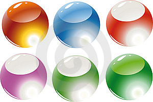 Color Spheres Stock Image - Image: 6813081