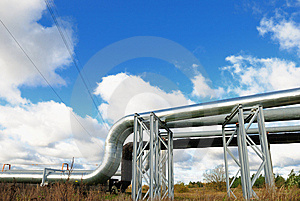 Industrial Pipelines Royalty Free Stock Image - Image: 6813586