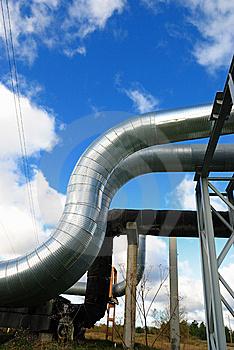 Industrial Pipelines Stock Photo - Image: 6813630