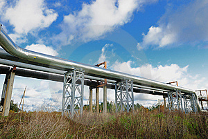 Industrial Pipelines Royalty Free Stock Image - Image: 6813856