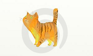 Ginger Cat Stock Images - Image: 6814354