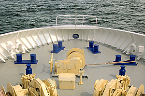 Prow Of A Ferry Boat Stock Images - Image: 6818374