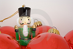 Nutcracker Toy Soldier Ornament Royalty Free Stock Photography - Image: 6819097