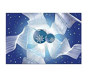 Christmas Balls And Bow Royalty Free Stock Photos - Image: 6819228
