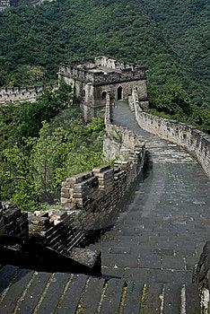 The Great Wall Of China _ Mutianyu Stock Photo - Image: 6819550