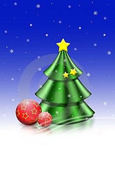 Christmas tree Free Stock Photo